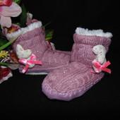 Тапочки-сапожки Puschen 23р-р,по стельке 15 см.Мега выбор обуви и одежды