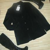 Итальянский стильный деловой удлиненный пиджак(новый)