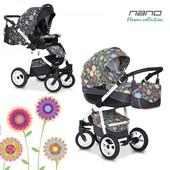 Детская универсальная коляска Nano Flowers, Riko