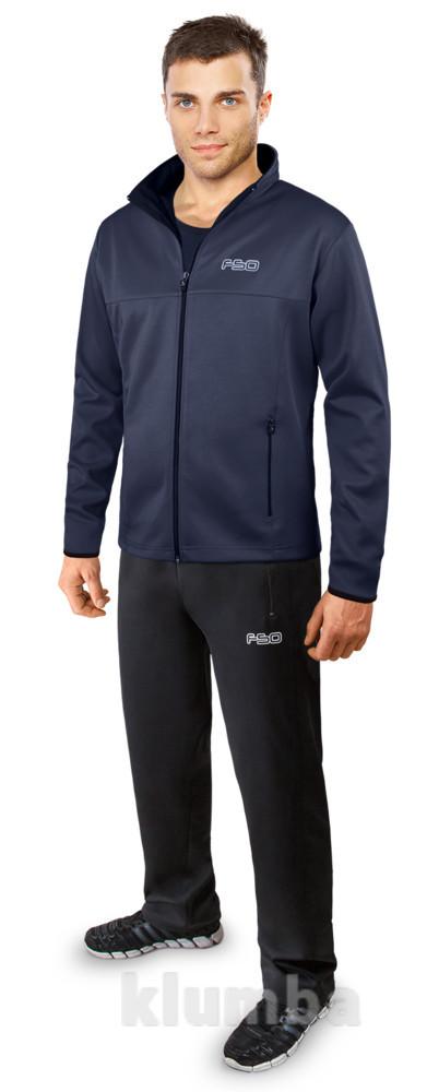 Мужской спортивный костюм (т.серый-черный) фото №1