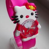 Часы на гибком браслете Hello Kitty