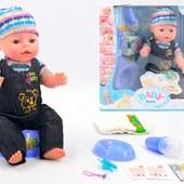 Кукла пупс Baby Born, беби борн, бейби бон, берн, лялька копия