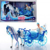 Кукла Принцесса с каретой