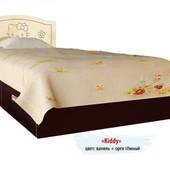 Гарантия 2 года! Кровать Kiddy №1, 2 ящика, 120x190 см, укр. производство