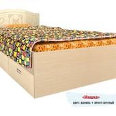 Гарантия 2 года! Кровать Мишка №6, 2 ящика, 90x190 см, укр. производство