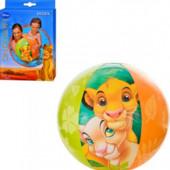 """Детский надувной мяч """"Король Лев"""" Intex"""