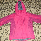 Термо- деми- куртка  для девочки (5-6 лет)