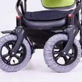 чехлы на колеса коляски велосипеда