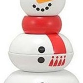 Пирамидка «Снеговик», Melissa&doug