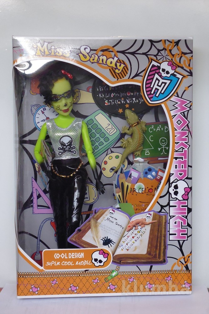 Кукла monster high (учительница) фото №1
