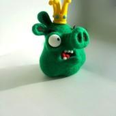 Angry Birds Свин из шерсти
