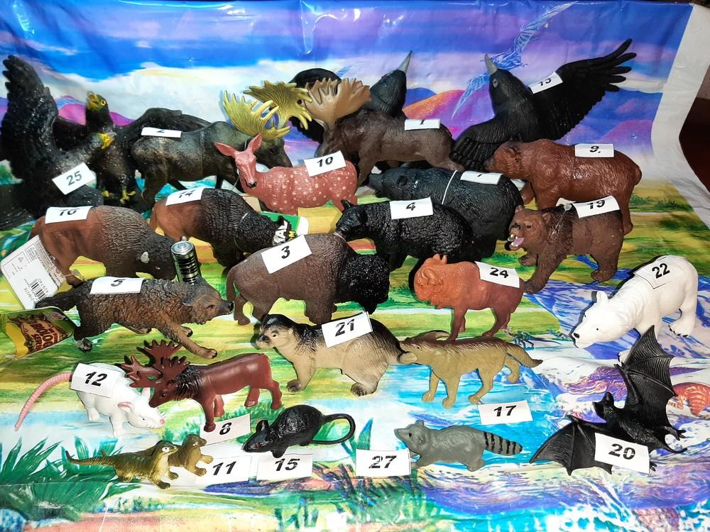 Новинки! животные резиновые, фигурки зверей, дикие звери, набор резиновых животных фото №1