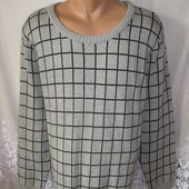 Стильный теплый свитер пуловер Maite Kelly акрил хлопок xxl 56-58 193N