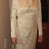 Скидка!Шикарный комплект платье и болеро всего 200 грн!