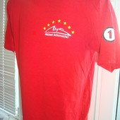 Фірмова футболка Формула 1 .Шумахер .
