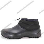Мужские дутые ботинки. Зимние. 28 см. Цена снижена