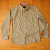 10-11 лет Marks&Spencer как новая стильная рубашка хлопок. Длина 60 см, ширина 42 см, плечи - 35.5 с
