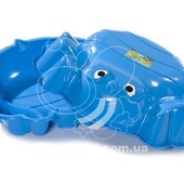 Песочница Краб двойная (синий) KHW кunststoff. артикул 72002