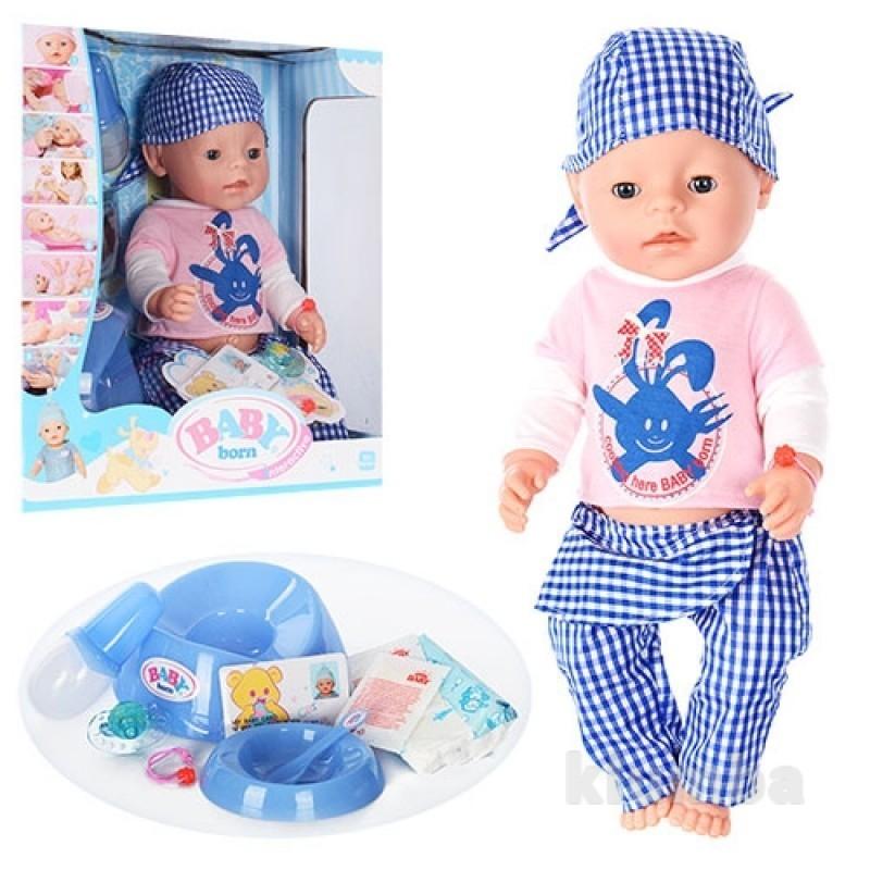 Кукла пупс беби борн bl013a фото №1