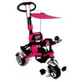 Велосипед трехколесный tilly combi trike малиновый (BT-CT-0012 raspberry)