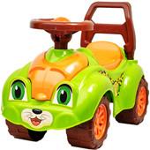 Доставка Машинка ТехноК 3268 леопард салатовая автомобиль для прогулок толкатель