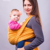 Слинг-шарф тм Наш слинг Жаклин жаккардовый от 0 до 2-х лет