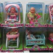 Рапродажа - Пупс с ванной, детским креслом от Maya Toys