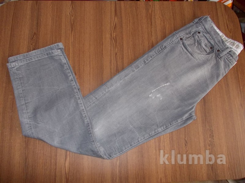 Продам классные серые мужские джинсы 34разм.River Island.Недорого. фото №1
