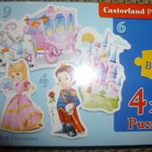 Пазлы Castorland (Касторленд)  4в1.