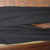 черные классические брюки 100%полиэстер.