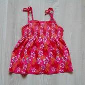 Яркий купальный топ для девочки. Размер 2-3 года. Состояние: новой вещи, не ношенный.