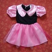 Продаю! 1-2 года Карнавальное платье, б/у. Длина 43 см