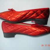 Туфли, тапочки, новые Damart, 39/25 см