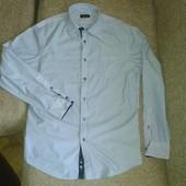 красивая рубашка от Zara men, р. XL