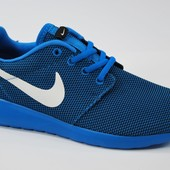 Мужские кроссовки  Nike Roshe Run All Navy