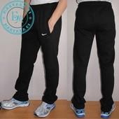 Тёплые штаны NIKE черный