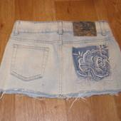 Стильная джинсовая юбка Gloria Jeans