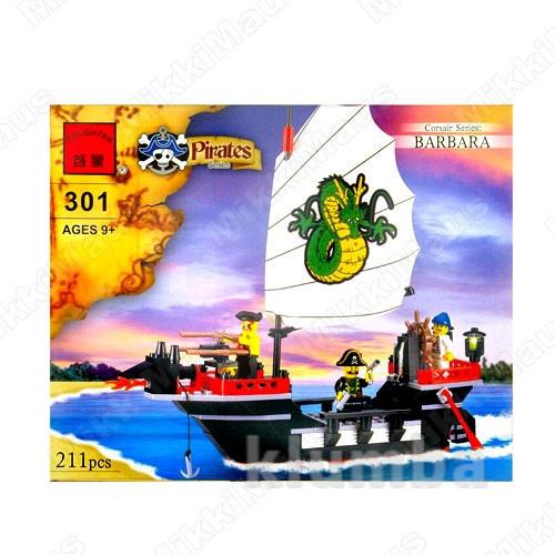 Конструктор  brick 301 пиратский корабль фото №1
