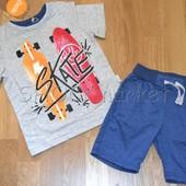Костюм для мальчика футболка и шорты КС 543 Бемби р.98,110
