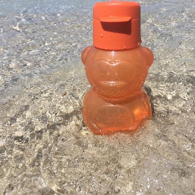 Детская бутылочка мишутка с клапаном,тапервер фото №1