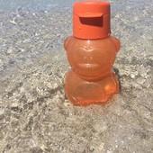 Детская бутылочка Мишутка с клапаном,Тапервер