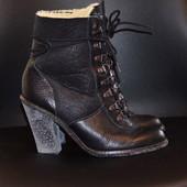Кожаные ботиночки ,размер 36-37