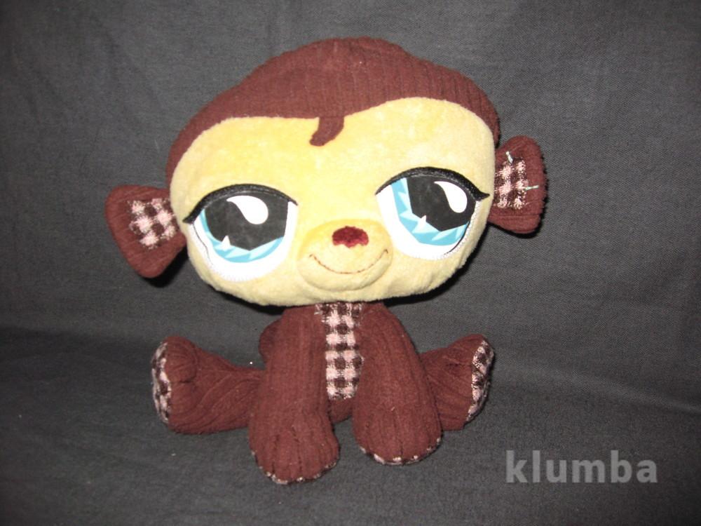 Мягкая обезьянка pet shop фото №1