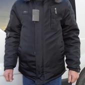 Новая зимняя мужская курточка Аляска,48 размер.