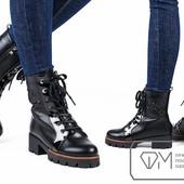 33-ботинки-сапожки женские на меху р-ры 36,37