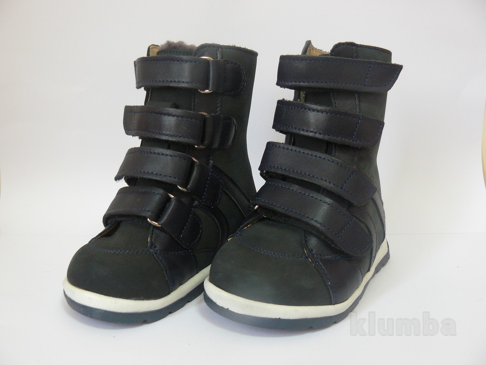 Зимние ортопедические ботинки на мальчика 22р. aurelka фото №1