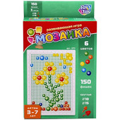 Мозаика 150 фишек 1 и 1,5см  6 цветов Joy Toy 2711
