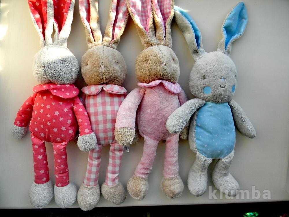 Французские игрушки кролик зайчик klorane bebe фото №1