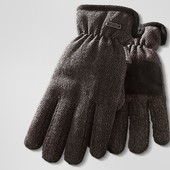 Теплые перчатки Tchibo Германия 8,5 и 9,5