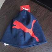 Шапка Puma big cat/no.1 logo beanie Оригинал